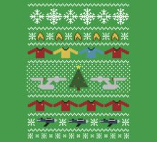Star Trek Ugly Christmas Sweater + Card by rydiachacha