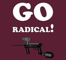 Paintball. Go Radical. WHI. Unisex T-Shirt
