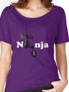 Paintball. Ninja. WHI. Women's Relaxed Fit T-Shirt