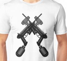 Paintball. Gun1 Cross Unisex T-Shirt