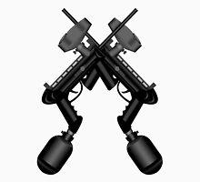 Paintball. Gun1 Cross Unisex T-Shirt
