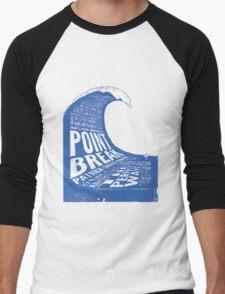 Point Break Movie Men's Baseball ¾ T-Shirt