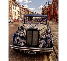 HDR Rolls Royce #3 Photographic Print