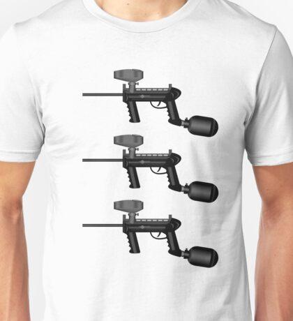 Paintball. Gun1 Left Hand3 Unisex T-Shirt