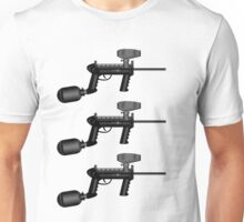 Paintball. Gun1 Right Hand3 Unisex T-Shirt