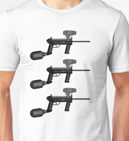 Paintball. Gun1 Right Hand3 Unisex T-Shirt
