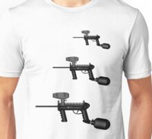 Paintball. Gun1 Left Hand4 Unisex T-Shirt