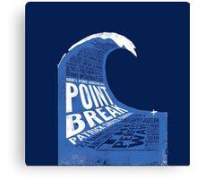 Point Break Movie Canvas Print