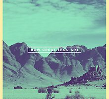 How Great Thou Art by The 365 Worship Project