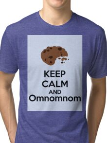 Keep Calm And Omnomnom Tri-blend T-Shirt