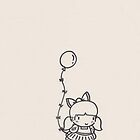 Balloon Girl by limeleaf