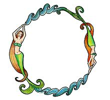 Mermaid Circle by Amy-Elyse Neer