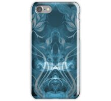 Flames Double Blue iPhone Case/Skin
