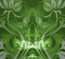 Flames Double Green by Joey Kuipers