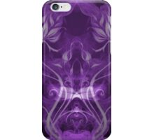 Flames Double Purple II iPhone Case/Skin