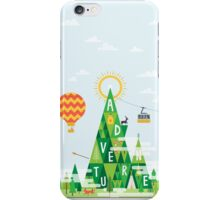Adventure mountain iPhone Case/Skin