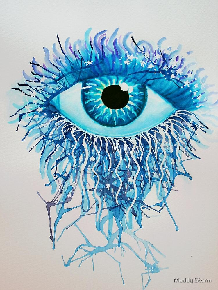 Water-Eyes by Maddy Storm