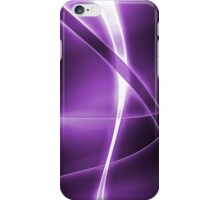 Abstract Purple iPhone Case/Skin