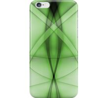 Abstract Venom Green iPhone Case/Skin