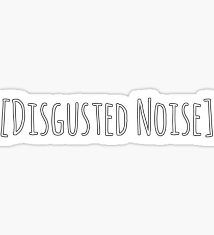 Dragon Age Cassandra Pentaghast Inquisition Disgusted Noise Sticker