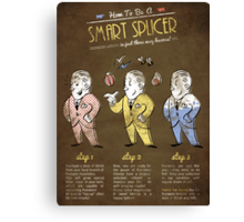 Bioshock - A Smart Splicer Canvas Print