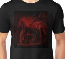 Flame Horse Unisex T-Shirt