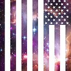 American Flag Galaxy by stylishtech