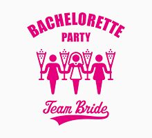Bachelorette Party – Team Bride (Magenta) Womens Fitted T-Shirt