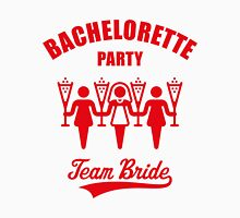 Bachelorette Party – Team Bride (Red) Womens Fitted T-Shirt