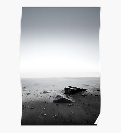 Slow Shutter Beachscape Poster