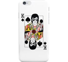 Elvis Presley Vegas Style Playing Card iPhone Case/Skin