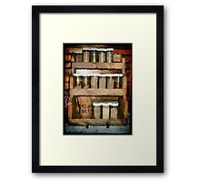 Country Spice Framed Print