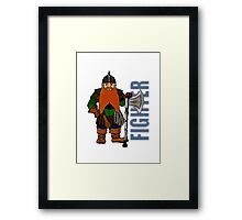 Dwarf Fighter Framed Print