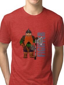 Dwarf Fighter Tri-blend T-Shirt
