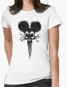 Hammer Mouse of Horror Womens Fitted T-Shirt