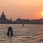 Venice Sunset by Kymbo