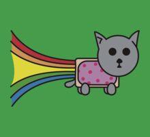 Nyan Cat  One Piece - Short Sleeve