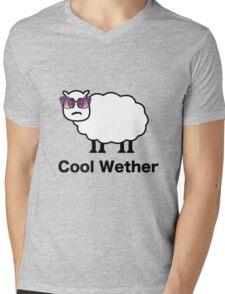 Cool Wether Mens V-Neck T-Shirt