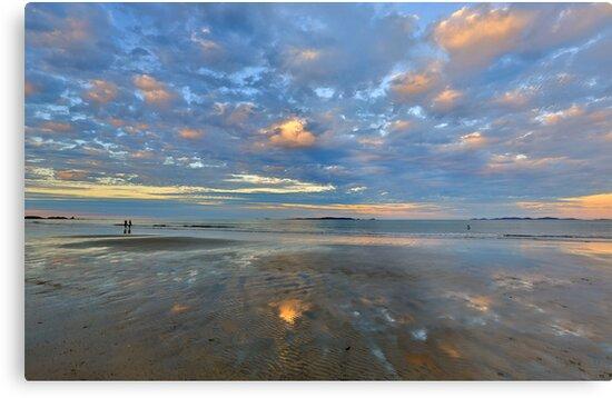 On The Beach by Peter Doré