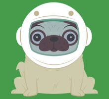 Pug in Space One Piece - Short Sleeve