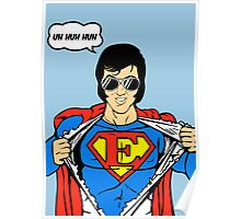 Superman Super Elvis Presley  Poster