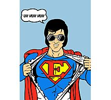 Superman Super Elvis Presley  Photographic Print