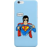 Superman Super Elvis Presley  iPhone Case/Skin
