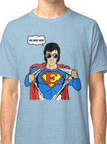 Superman Super Elvis Presley  Classic T-Shirt