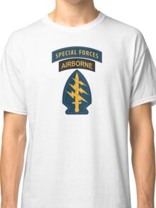 Special Forces Patches Classic T-Shirt