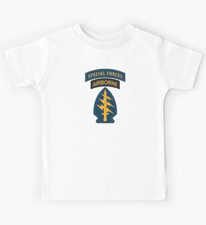 Special Forces Patches Kids Tee