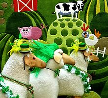 Menage a Mutton - St Patrick's Day Parade by eyeland