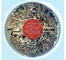 Planet NYC Photographic Print