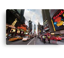 Square Cops Canvas Print