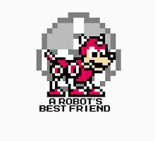 A Robot's Best Friend (Black Text) Unisex T-Shirt